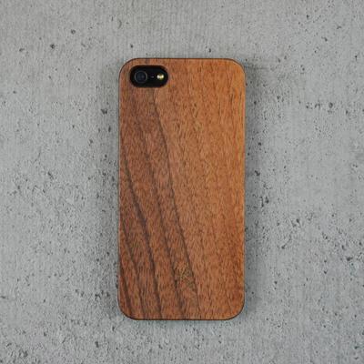 Woodcessories EcoCase Walnuss für iPhone 5(s)/SE