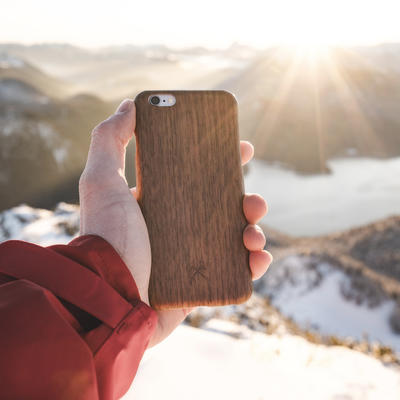 Woodcessories EcoCase Slim Walnuss für iPhone 7/8 Plus