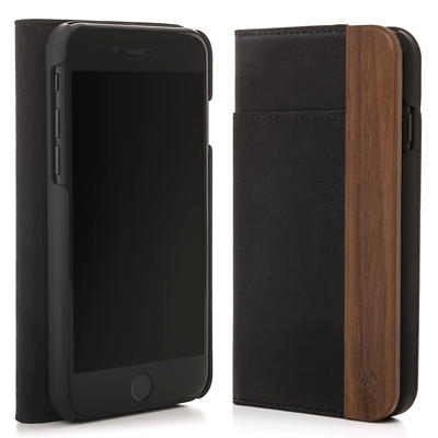 Woodcessories EcoWallet Walnuss für iPhone 5(s)/SE