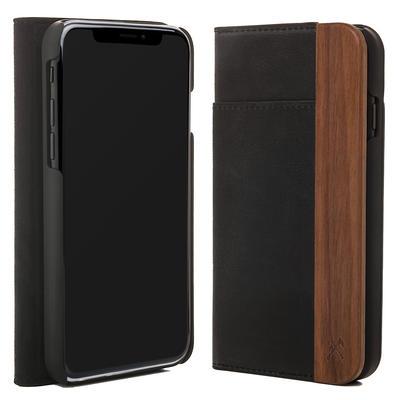 Woodcessories EcoWallet Walnuss für iPhone XS Max