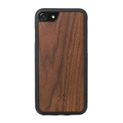 Woodcessories EcoBump noyer/noir pour iPhone SE 2nd gen/7/8