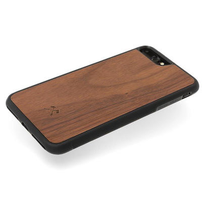 Woodcessories EcoBump Walnuss/Schwarz für iPhone 7/8 Plus