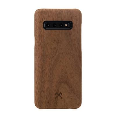 Woodcessories EcoCase Slim Walnuss für Samsung Galaxy S10