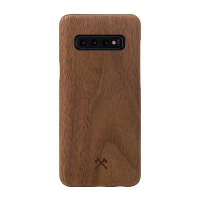 Woodcessories EcoCase Slim Walnuss für Samsung Galaxy S10+