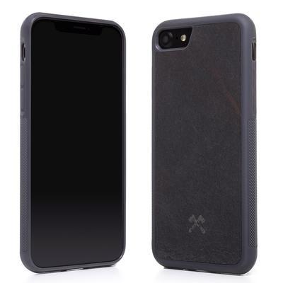 Woodcessories Stone Edition EcoBump Volcano Black für iPhone 7/8