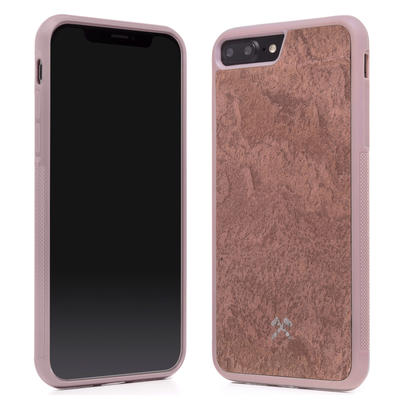 Woodcessories Stone Edition EcoBump Canyon Red für iPhone 7/8 Plus