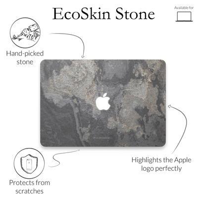 Woodcessories Stone Edition EcoSkin Camo Gray für Macbook 12