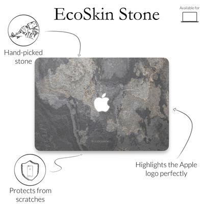 Woodcessories Stone Edition EcoSkin Camo Gray für Macbook 13