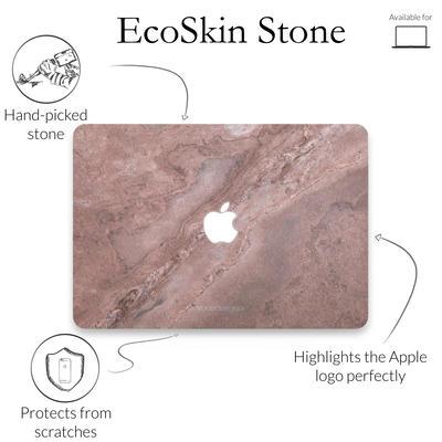 Woodcessories Stone Edition EcoSkin Canyon Red für Macbook 13