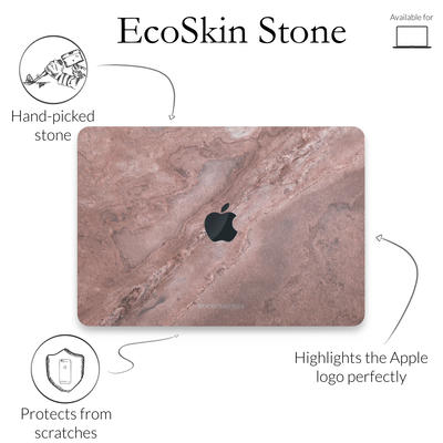 Woodcessories Stone Edition EcoSkin Canyon Red Macbook 13
