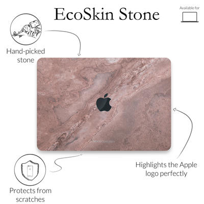 Woodcessories Stone Edition EcoSkin Canyon Red für Macbook 15