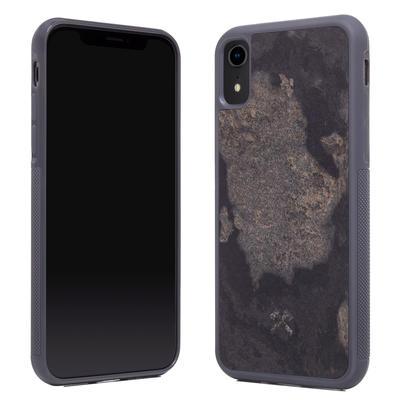 Woodcessories Stone Edition EcoBump Camo Gray für iPhone XR