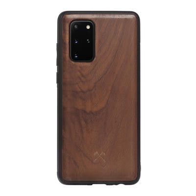 Woodcessories EcoBump noyer/noir pour Samsung Galaxy S20+