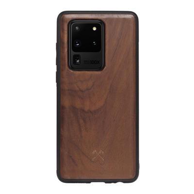 Woodcessories EcoBump Walnuss/Schwarz für Samsung Galaxy S20 Ultra