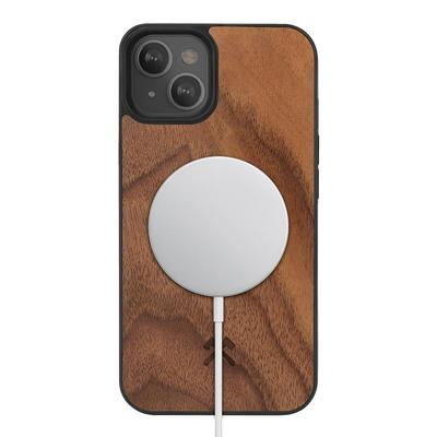 Woodcessories Bumper Case Magsafe Noyer pour iPhone 13