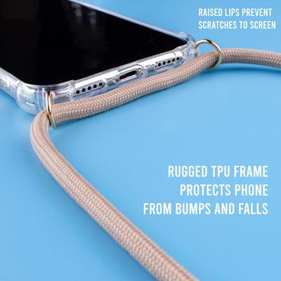 LOOKABE Necklace Case Handyhülle mit Handykette für iPhone