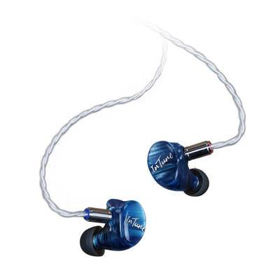 iBasso IT07 bleu Écouteurs intra-auriculaires avec 7 pilotes