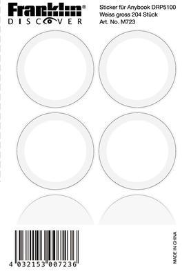 Franklin Anybook Sticker Gross M723, 204er Set