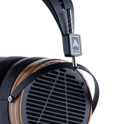 Audeze LCD-3 aus Zebranoholz, Leather-free Version