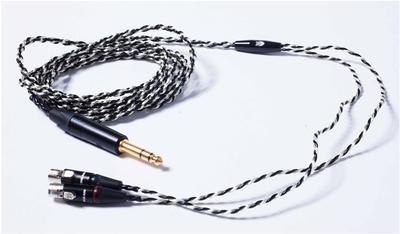 Audeze Premium Câble d'écouteurs avec fiche 6.3 mm