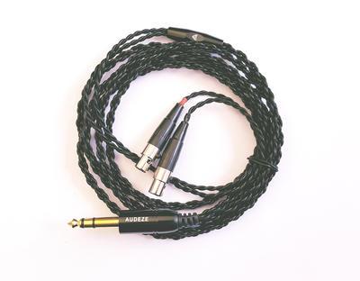 Audeze mini XLR auf 6.3 mm Kabel für alle LCD Kopfhörer