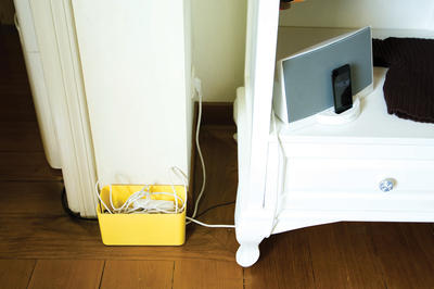 Bluelounge CableBox Mini Weiss