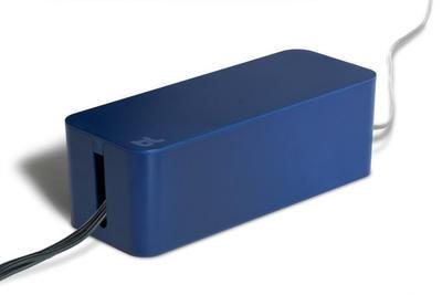 Bluelounge CableBox Dunkelblau
