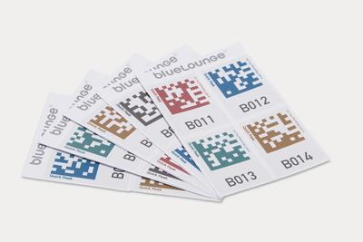 Bluelounge Quick Peek 100 Smart Storage Labels