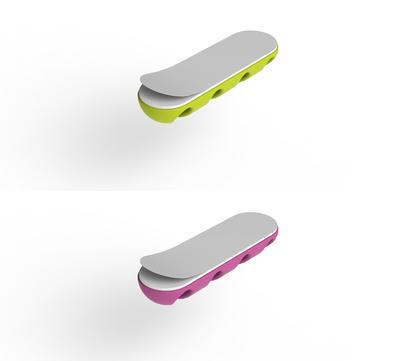 Bluelounge CableDrop Multi Pink/Grün