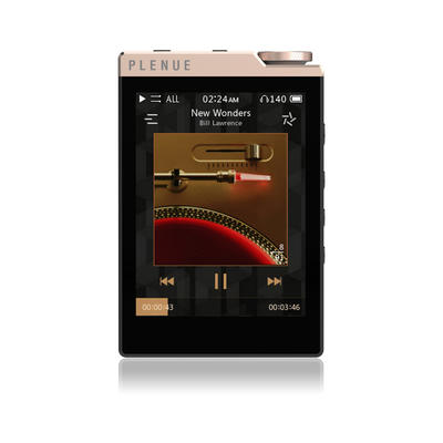 Cowon Plenue D3 Gold/Schwarz Hi-Res-Player, 64GB, Bluetooth