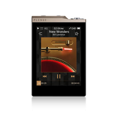 Cowon Plenue D2 Gold/Schwarz, 64GB