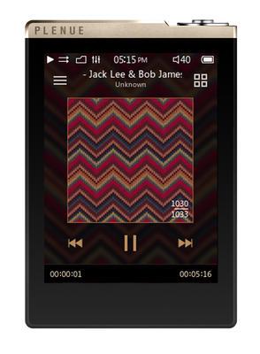 Cowon Plenue D, 32GB, Gold/Schwarz