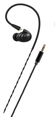 FiiO F9 In-Ear Ohrhörer Schwarz mit In-Line-Fernbedienung
