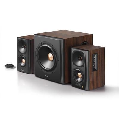 Edifier S360DB Holz Aktive 2.1 Lautsprecher