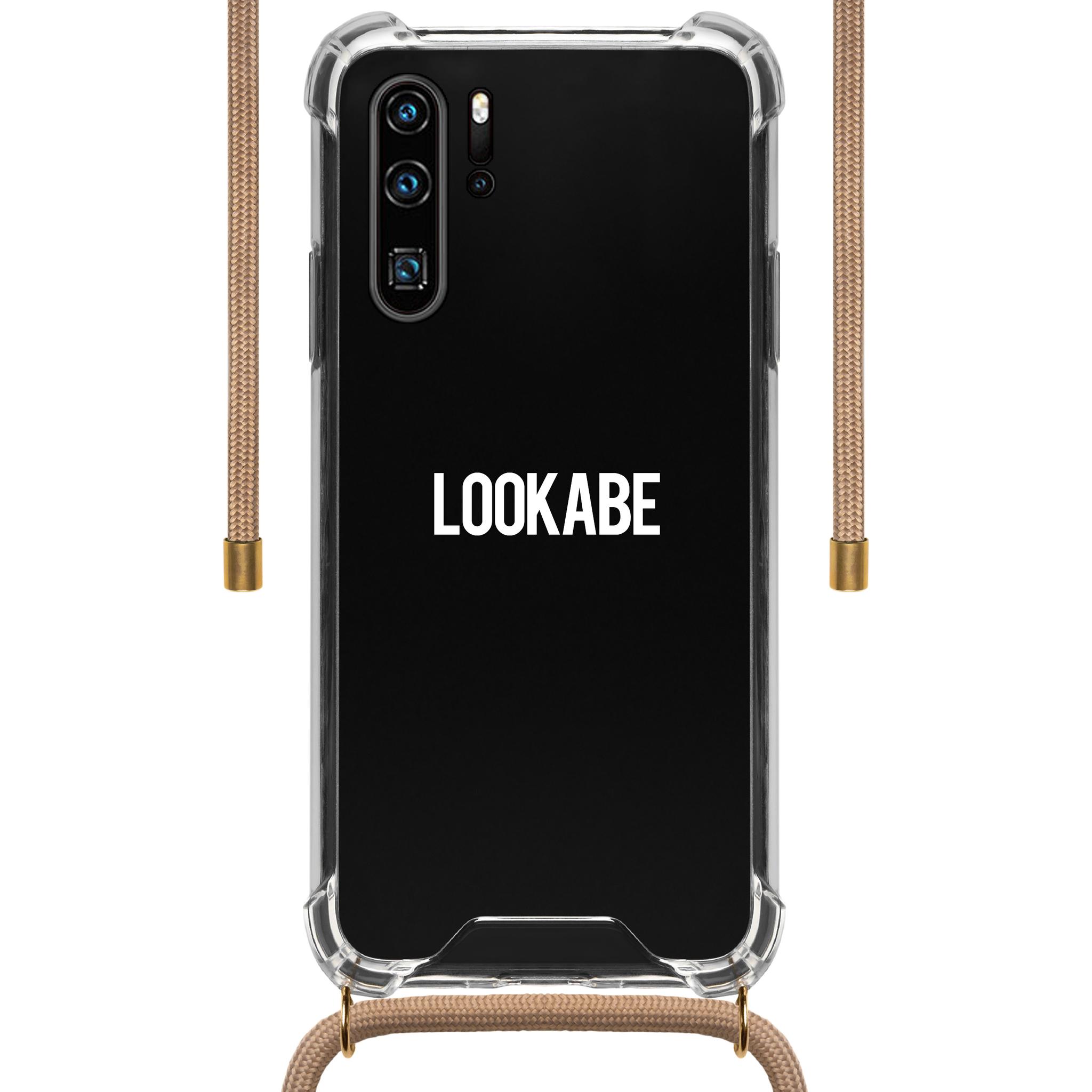 LOOKABE Necklace Case Tasche für iPhone XR Handykette