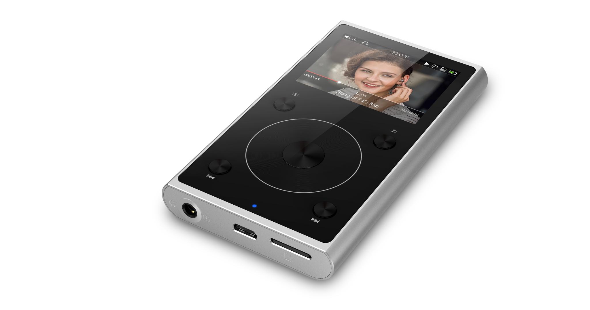 Fiio All New X1 Music Player Silber